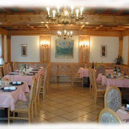 Breakfast room within restaurant ALPEN VIDI Fotos