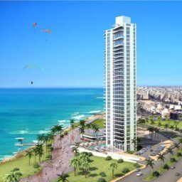 Exterior view Island Suites Hotel Netanya Fotos