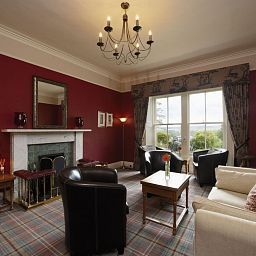 Vista all'interno Loch Ness Country House Hotel Fotos