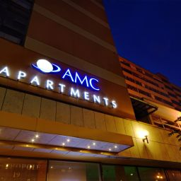 Фасад AMC Apartments Fotos