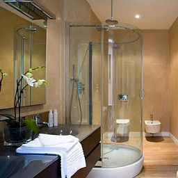 Cuarto de baño Escalus Verona Luxury Suites Fotos