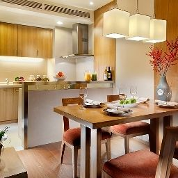 Kitchen Somerset Serviced Residence International Building Fotos