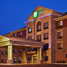 Vista exterior Holiday Inn Express Hotel & Suites SIOUX FALLS SOUTHWEST Fotos