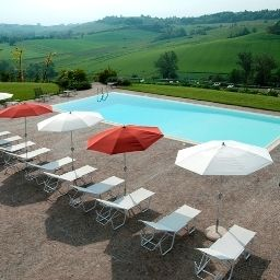 Pool Cascina Spinerola Country Hotel in Monferrato Fotos