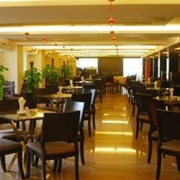 Breakfast room within restaurant Citihome Hotel Shanghai Beihai Hotel Fotos